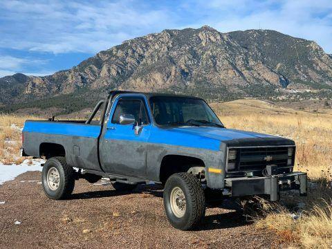 modified 1985 Chevrolet C/K Pickup 2500 Custom Deluxe vintage for sale