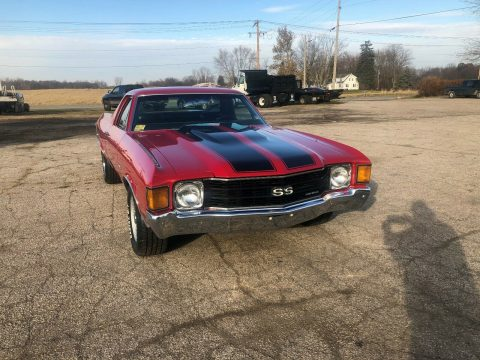 needs nothing 1972 Chevrolet El Camino vintage for sale