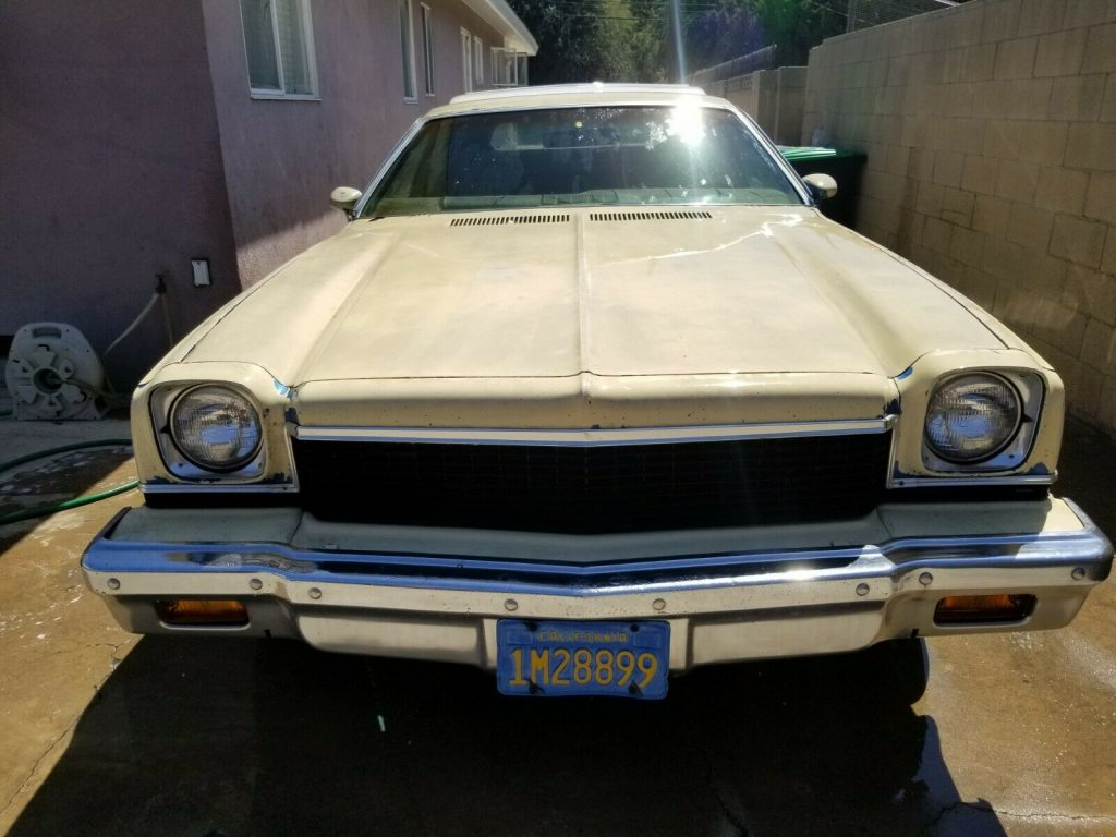 needs work 1973 Chevrolet El Camino SS vintage