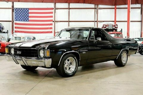 new parts 1972 Chevrolet El Camino SS vintage for sale