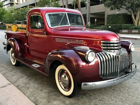 Frame off Restored 1945 Chevrolet C/K Pickup 1500 vintage for sale