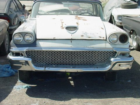 project 1958 Ford Ranchero 500 vintage for sale