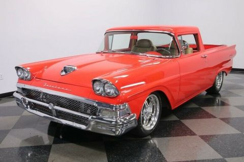 Restomod 1958 Ford Ranchero vintage for sale