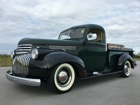 lowered 1946 Chevrolet 3100 AK Pickup vintage for sale