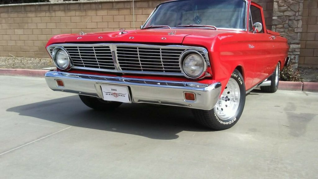 restored 1965 Ford Ranchero Basic vintage