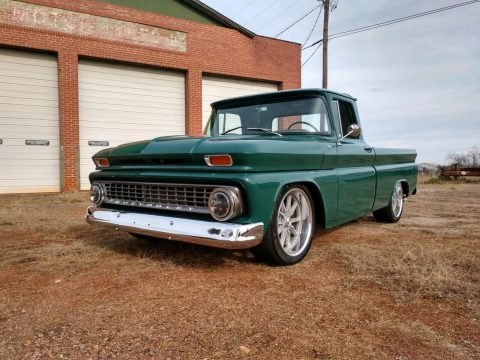 restored and modified 1963 Chevrolet C 10 FLEETSIDE vintage for sale