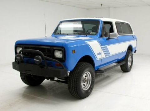 very nice 1980 International Scout vintage for sale
