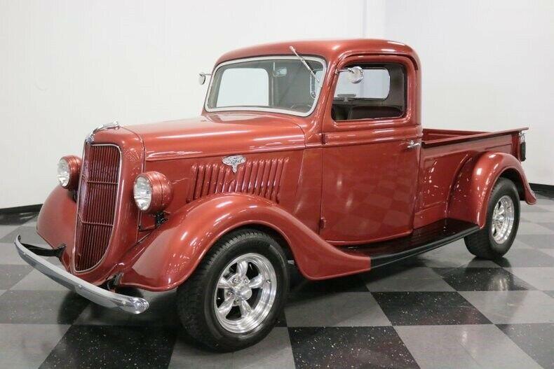 custom 1935 Ford Pickup vintage