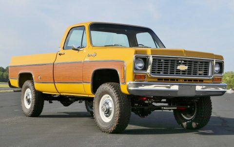 4×4 conversion 1973 Chevrolet C/K Pickup 3500 C20 vintage for sale