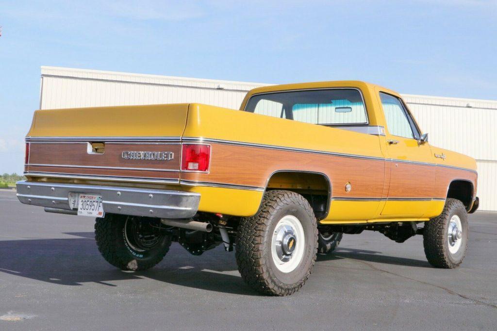 4×4 conversion 1973 Chevrolet C/K Pickup 3500 C20 vintage
