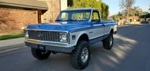 modified 1972 Chevrolet C/K Pickup 1500 K10 vintage for sale