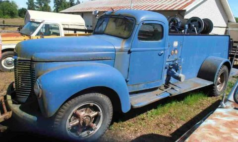 needs tlc 1942 International Harvester k 233 vintage for sale