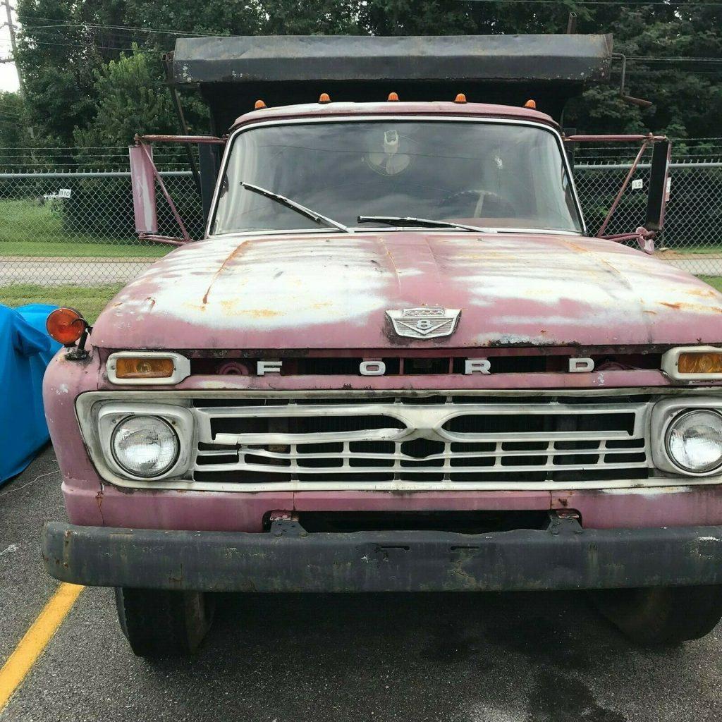 needs TLC 1966 Ford F60 truck vontage