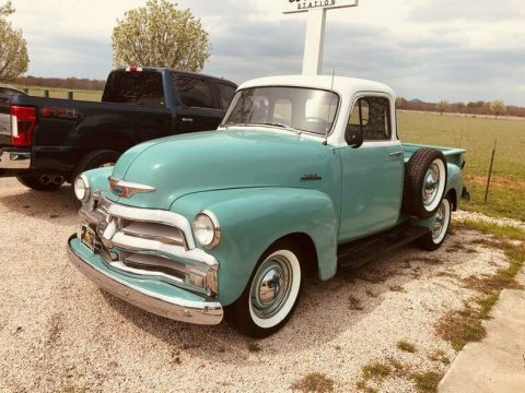 older restoration 1954 Chevrolet 3100 5 Window pickup vintage for sale