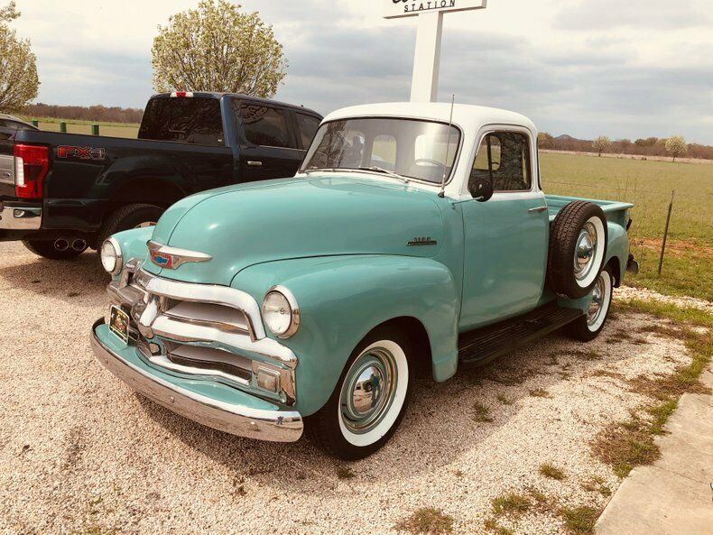 older restoration 1954 Chevrolet 3100 5 Window pickup vintage