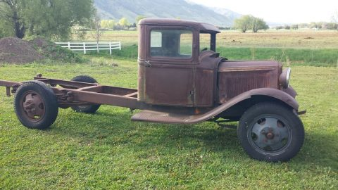 solid project 1932 Ford BB truck vintage for sale