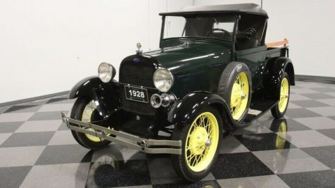 very nice 1928 Ford Model A Roadster Pickup vintage for sale