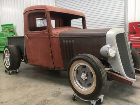 project 1935 Chevrolet Pickup hot rod vintage for sale