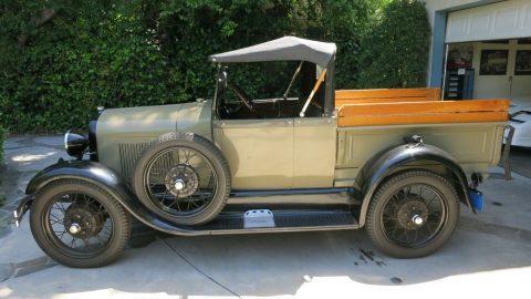 restored 1928 Ford Model A Roadster vintage for sale