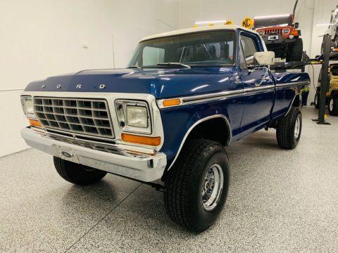 restored 1979 Ford F 150 Custom vintage for sale