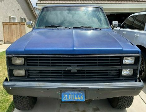 rust free 1984 Chevrolet C/K Pickup 2500 Silverado vintage for sale