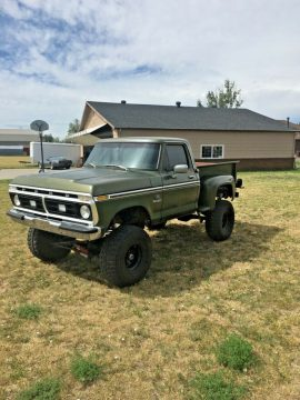 very solid 1976 Ford F 100 Ranger vintage for sale